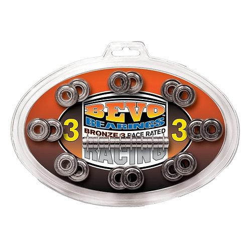 Bevo Bronze-3 Race Rated Chrome  roller skate Bearings