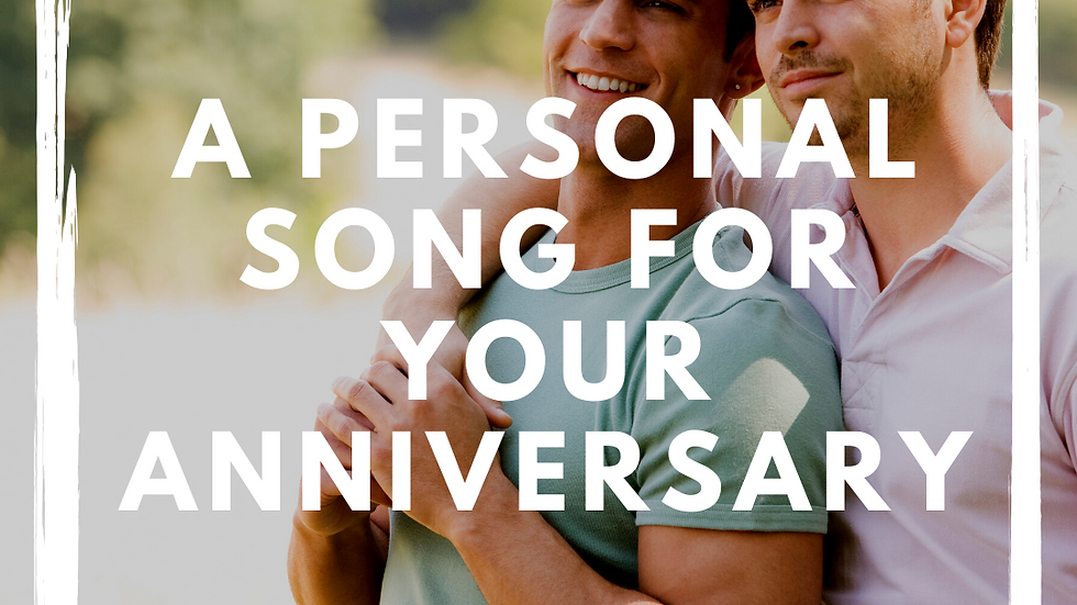 Personalized Gay Anniversary Song