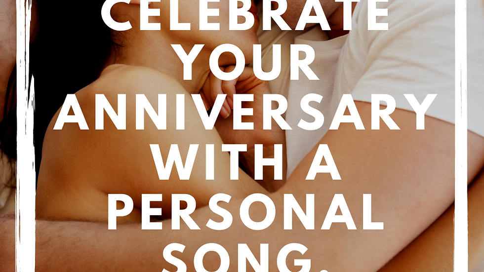 Personalized Wedding Anniversary Song