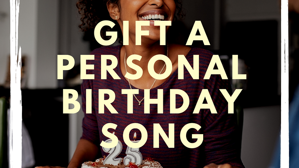 Personalized Birthday Song