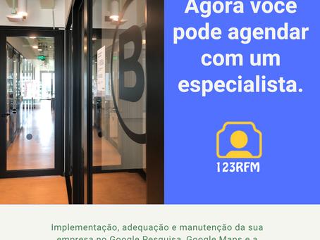 Agende a visita de um especialista para implementar sua empresa no Google