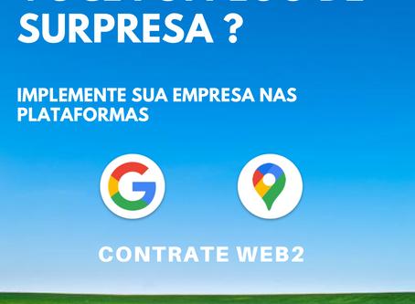Conheça nosso serviço de implementação da sua empresa no Google