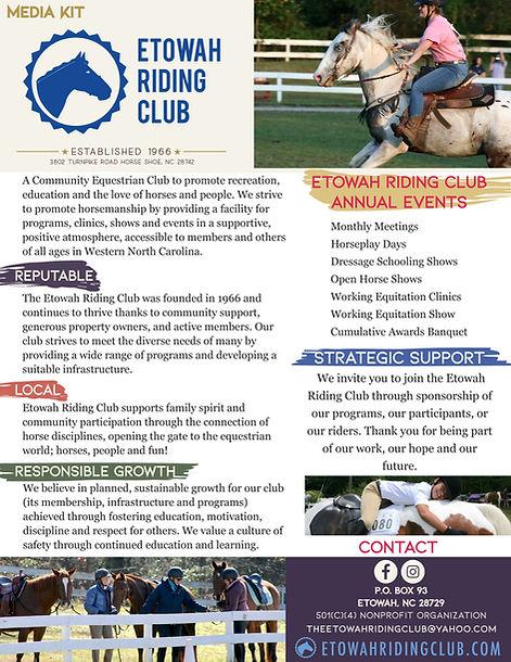 Etowah Riding Club Support