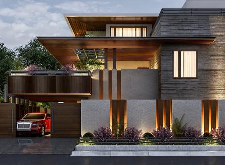 Tropical Modernism Architectural  Style : Duplex Design