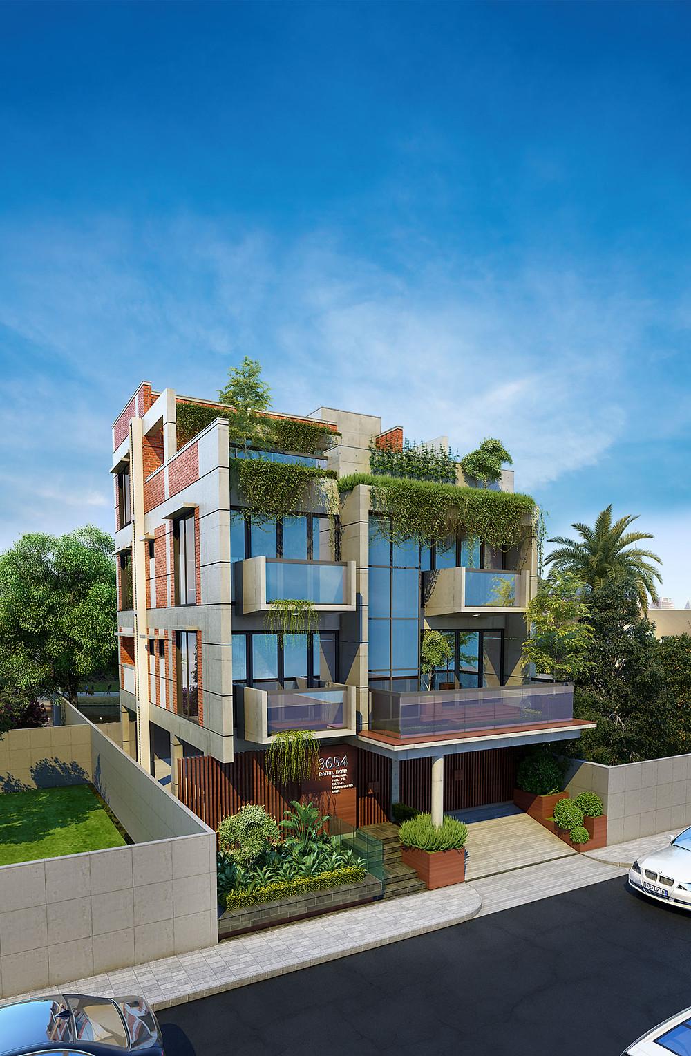 Duplex Villa Bashundhara, Dhaka , Bangladesh