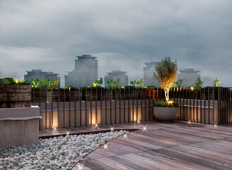 Roof Top Terrace: Leisure Time Relaxation