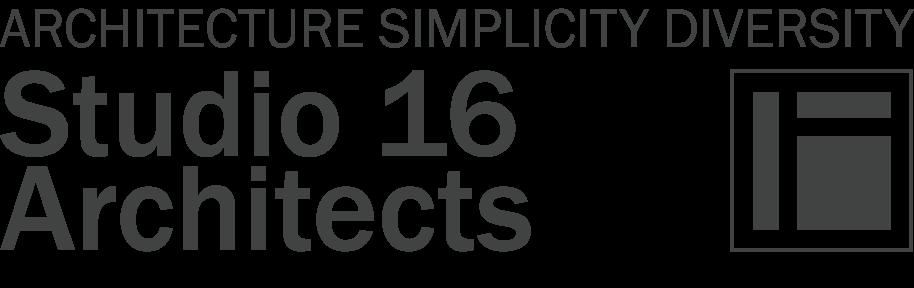 Studio 16 Architects Logo