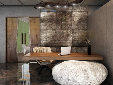 Industrial Style Office Interior Design at Gulshan , Dhaka