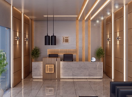 Office interior for a multinational Company