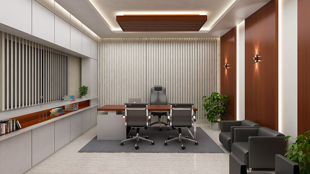 CEO room interior Design