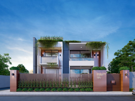 Duplex Residence Designed by S16A at Daudkandi