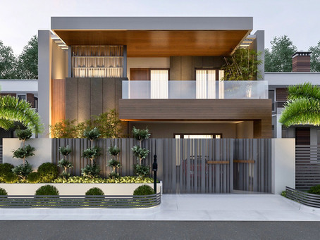 Modern Luxurious Duplex : Tight Site