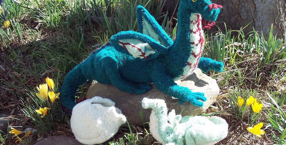 Esmerelda the Dragon and baby