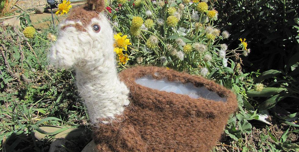 Beth's Llama Planter
