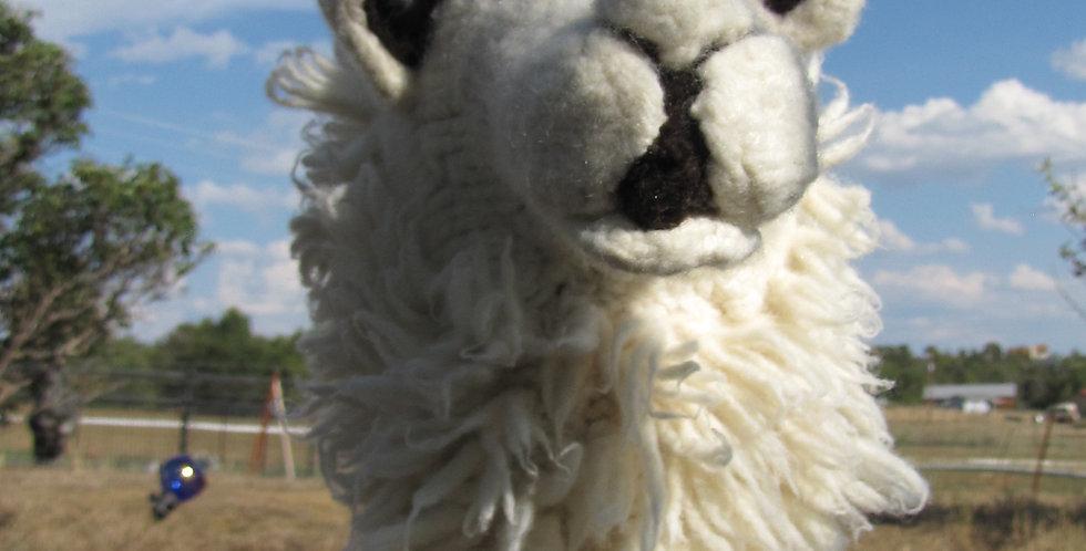 Beth the Stick Llama