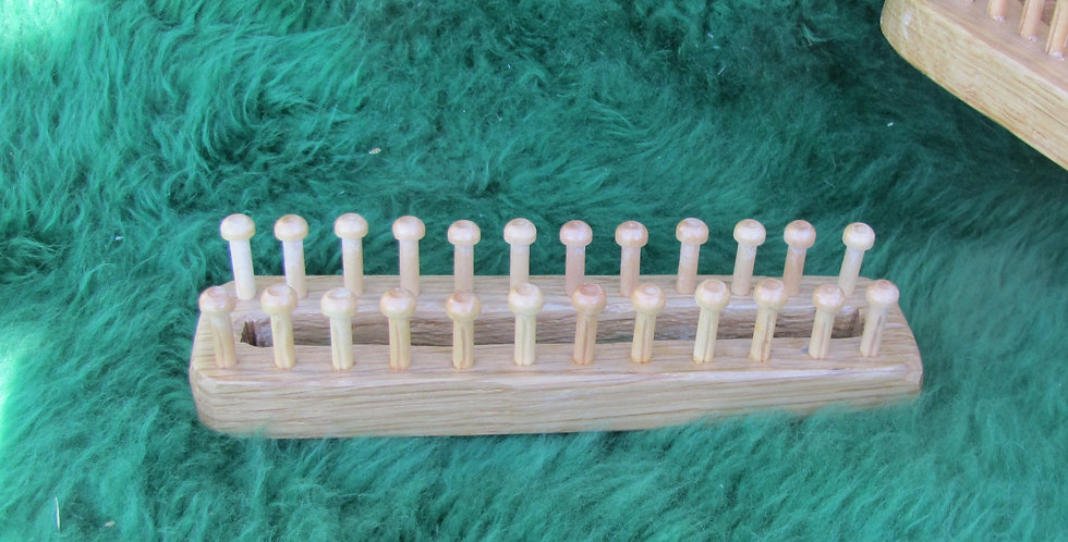 6 1/2 inch Oak Knitting Board
