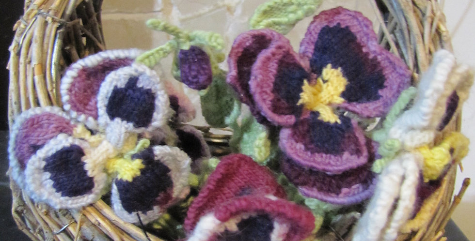 Amy's Pansies