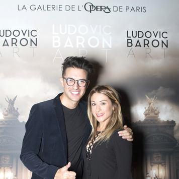 Ludovic Baron et Jade Geropp