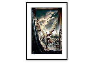 vertical - Un Ange s'Évade - affiche en