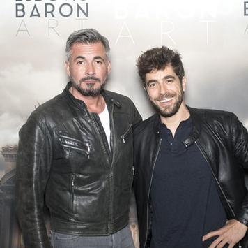 Olivier Minne et Agustin Gualiana