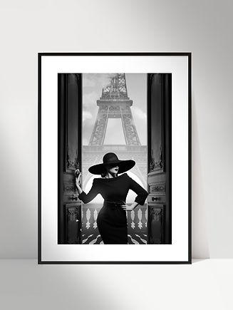 3 - Parisienne - Art Photographie par Lu