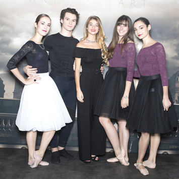 Paul Marque, Eugenie Drion, Constance Arnoult, Kelly Riffaud et Camille Bon