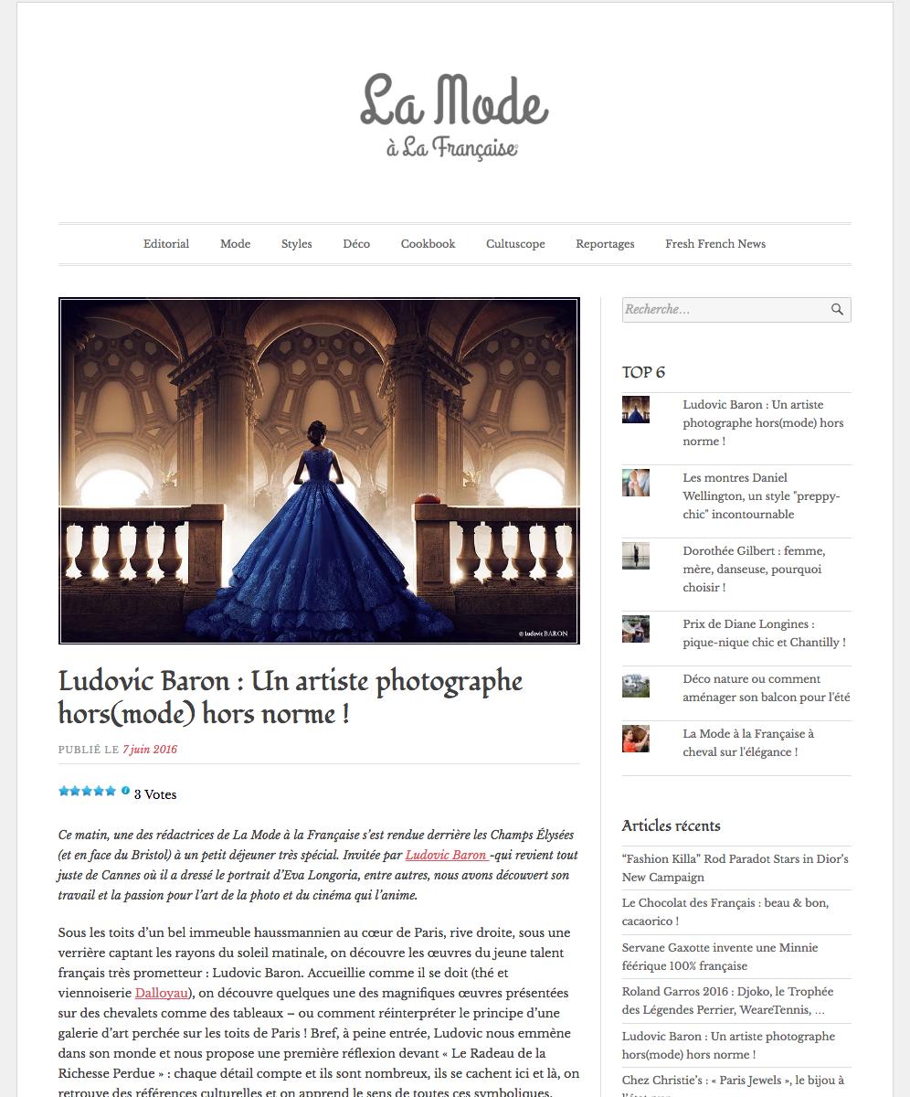 lLudovic Baron Photographe Paris