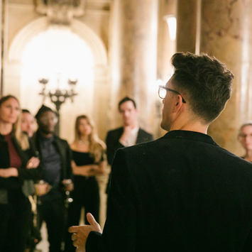 19 octobre 2017 / Exposition Ludovic Baron Art / Opera Garnier / Galerie de L'Opéra de Paris
