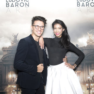 Ludovic Baron et Vanessa Modely