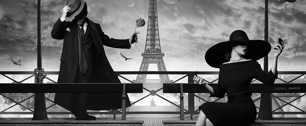 Tableau - Seduction à Paris - Artiste P