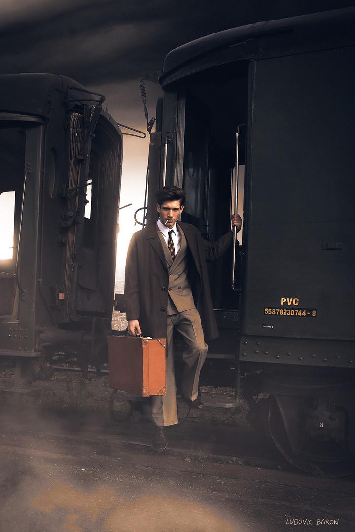 DESCENTE D'UN TRAIN À VAPEUR (2020)