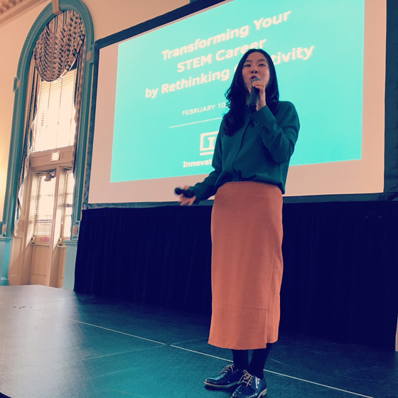 Ashley helped host the 2018 weSTEM Conference
