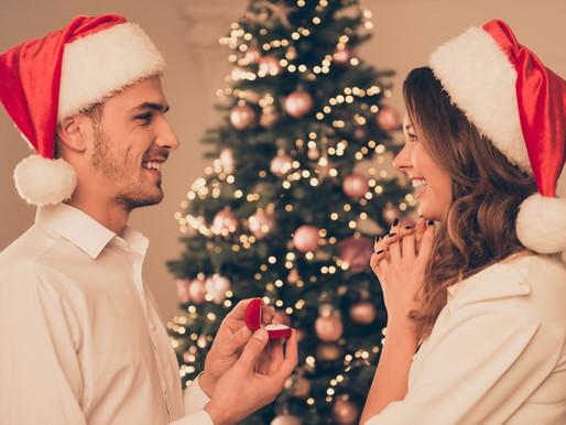 Heiratsantrag an den Festtagen