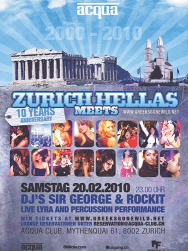 10 Jahre Zurich meets Hellas