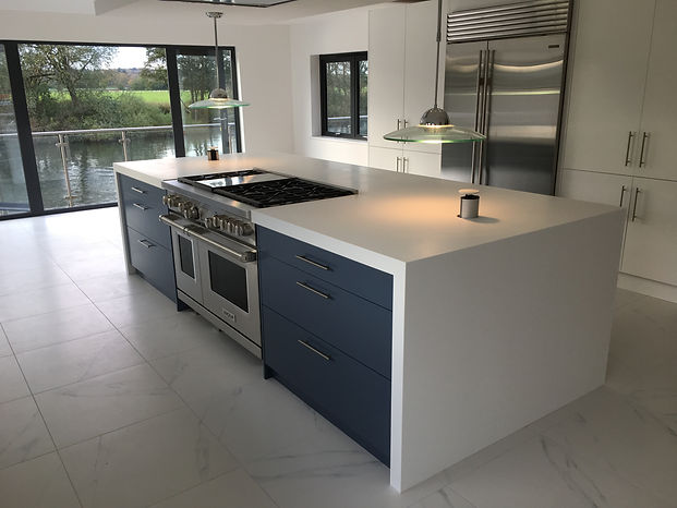 f&m fabrications - solid surface worktops corian himacs hanex staron for kitchen and bathrooms