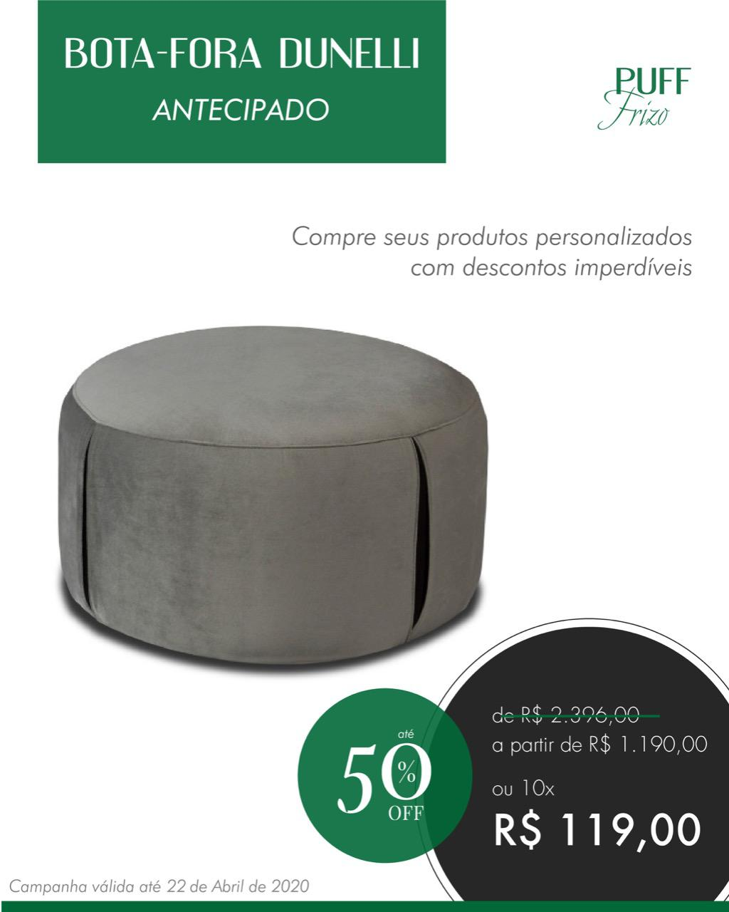 Pedido online whats (11) 95148-5596 ou vinicius.gerencia@dunellianalia.com.br