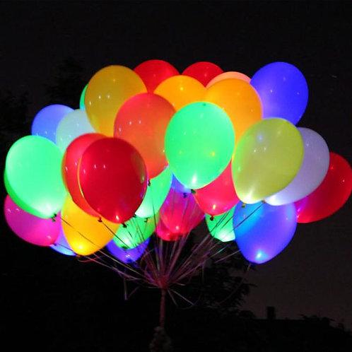 Светящиеся гелиевые шары