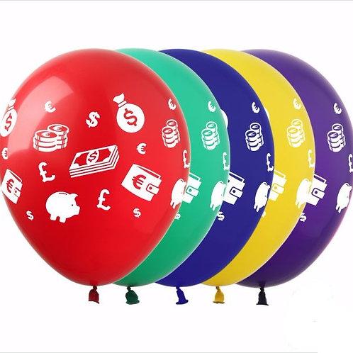 """Гелиевые шары  """"Деньги"""""""