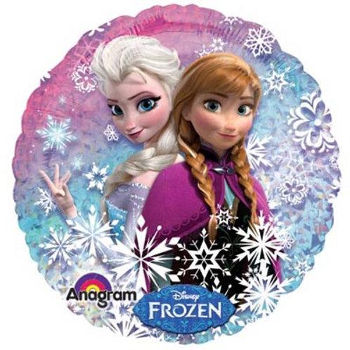 """Фольгированные шары с рисунком """"Frozen"""""""