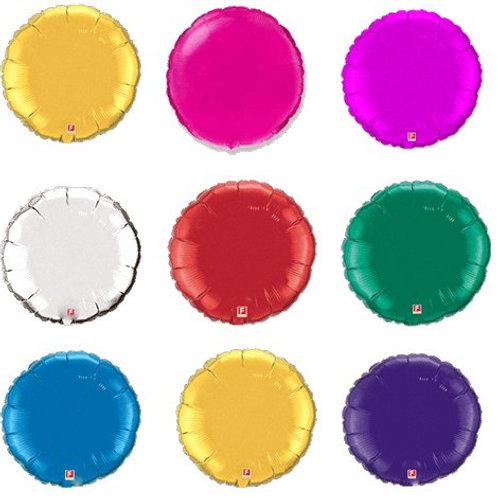 """Фольгированные шары """"Круг без рисунка"""" 18"""" дюйм"""