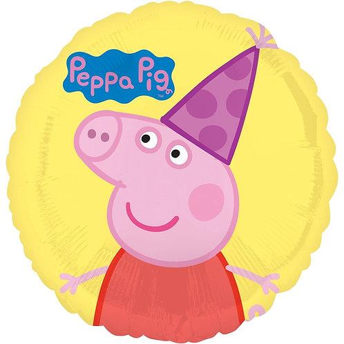 """Фольгированные шары с рисунком """"Свинка Пеппа"""""""