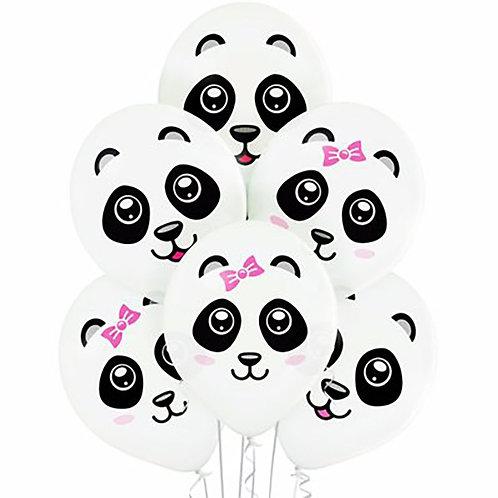 """Гелиевые шары """"Панда"""""""