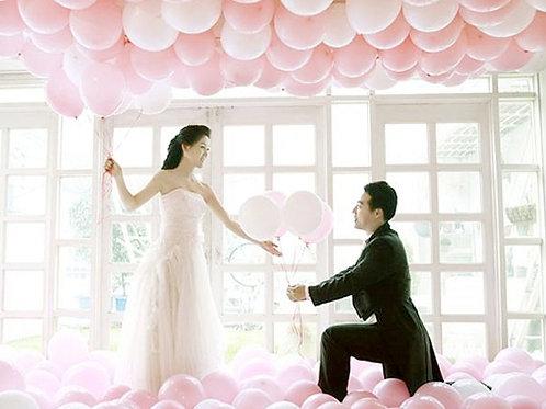 ГЕЛИЕВЫЕ БУКЕТЫ для свадебной фотосессии , 12 дюймов