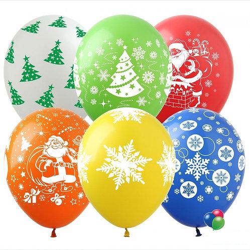 """Гелиевые шары """"С Новым Годом!"""""""