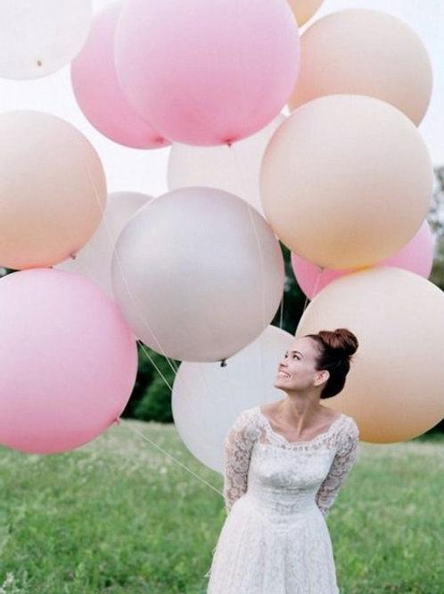 """ГЕЛИЕВЫЕ БУКЕТЫ из шаров """"Гигант"""" для Свадебной фотосессии, 27 дюймов"""