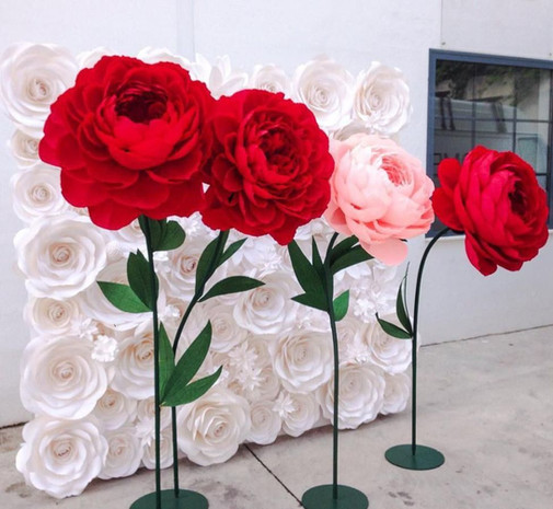 Большие цветы