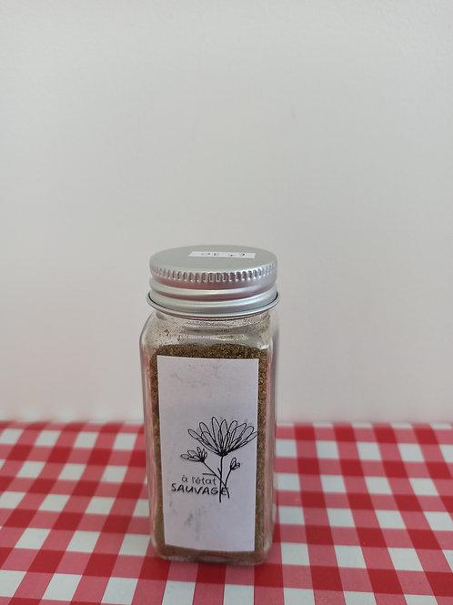 Mélange d'aromates en poudre