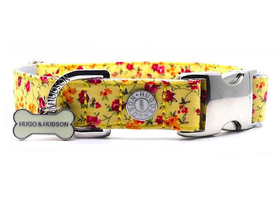 Hugo & Hudson Yellow Floral Collar XS-L