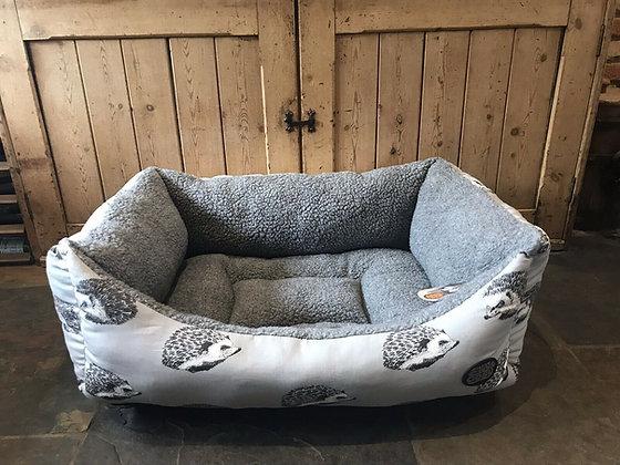 """Snug & Cosy 36"""" - 92cm Large Dog Bed. Hedgehog"""