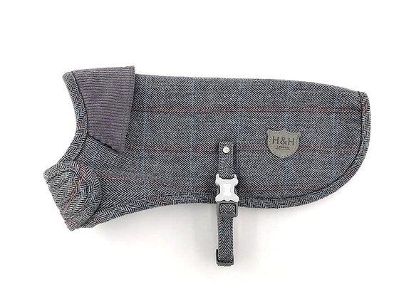 Hugo & Hudson Grey Check Tweed Jacket XS-XL